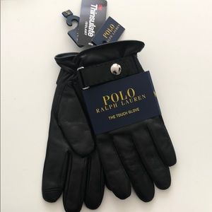 Polo Ralph Lauren Men's Touch Glove /Black/ Small